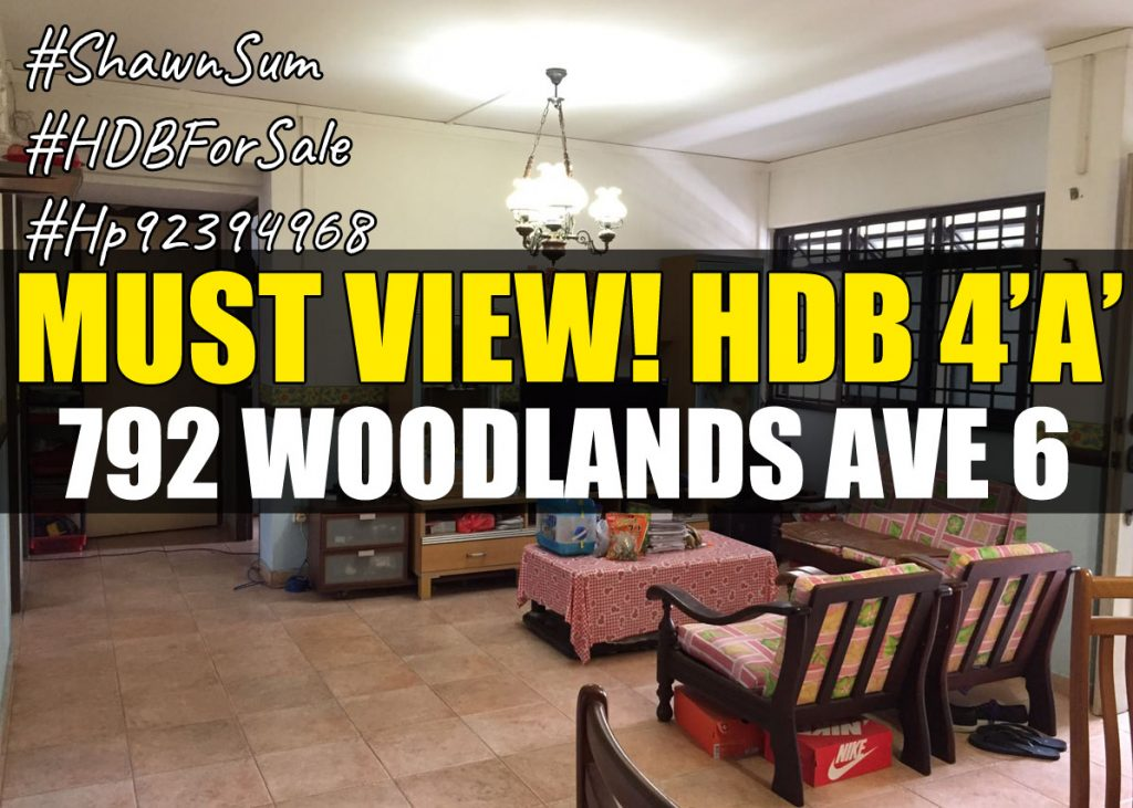 Bright and Spacious Living Room in 792 Woodlands Ave 6 Cover