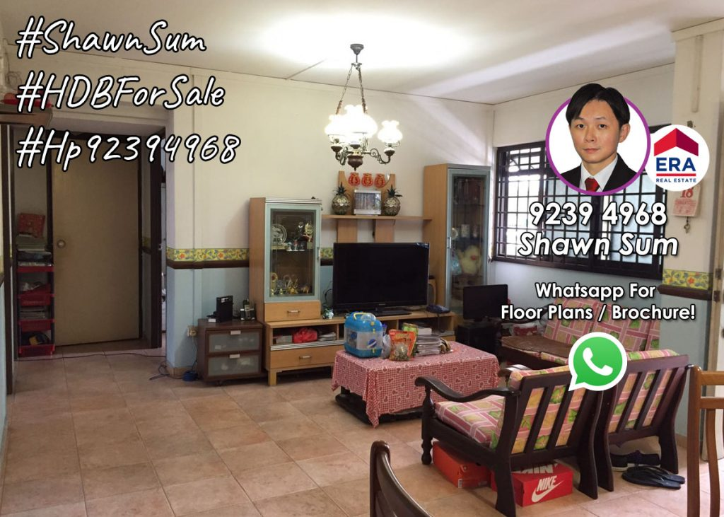 Bright and Spacious Living Room in 792 Woodlands Ave 6