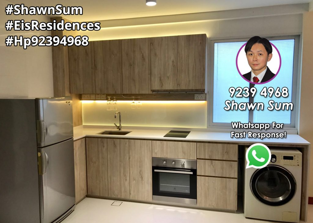 Eis Residences Well Equipped Open Kitchen