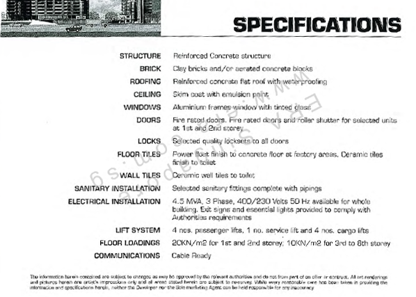 Specifications of Midview Building. PM Shawn to arrange for viewing