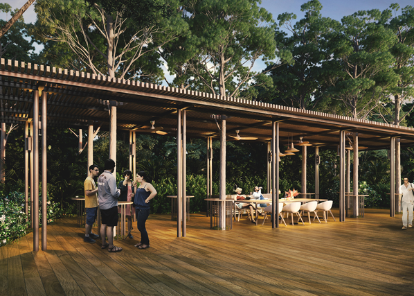 Parc Riviera Dining Pavilion. Call 92394968 For Full Floor Plans & Brochure
