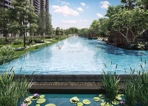Parc Riviera Swimming Pool. Call 92394968 For Full Floor Plans & Brochure