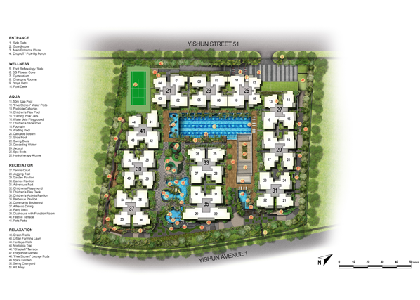 Signature at Yishun Site Plan Listed by Shawn Sum 92394968