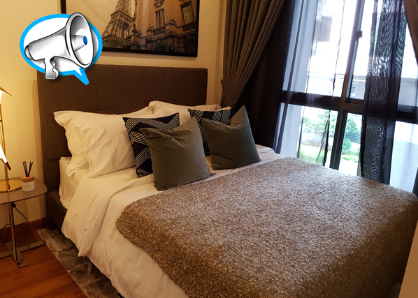 Renovated Unit of 4 Bedrooms at Sunnyvale Residences